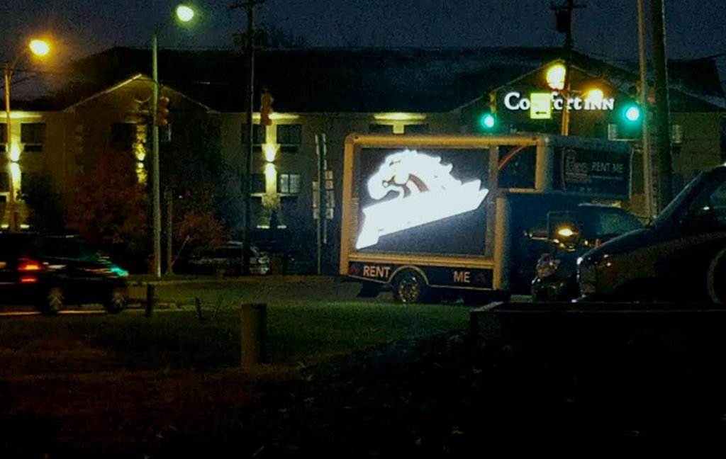 WMU Game Digital Billboard