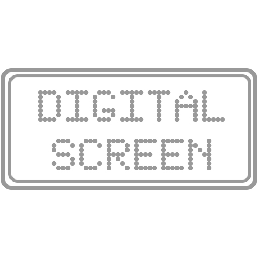 Digital Screen Icon