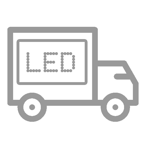 Mobile LED Truck Icon