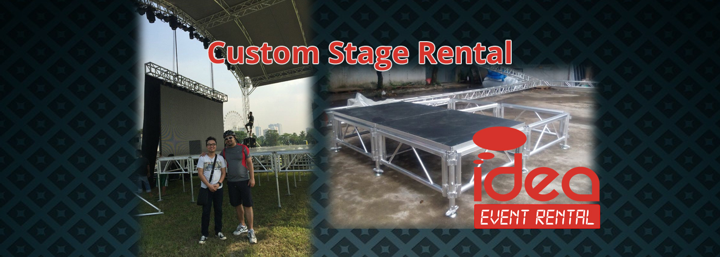 Stage Rental Slider